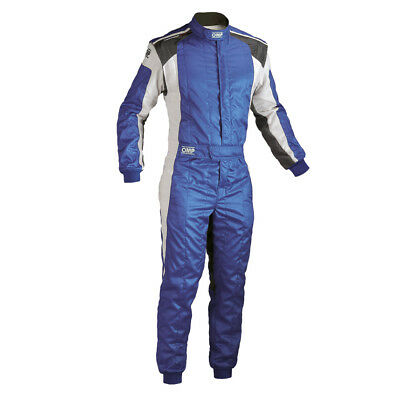 FIA OMP TECNICA EVO Race Suit Blue rally overall motosport NEW 2017 8856 2000
