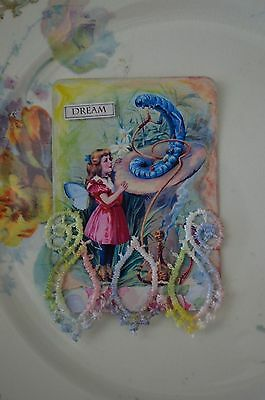 Dream -  A Mixed Media Altered Playing Card Aceo