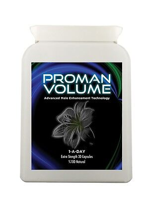 Proman Volume Pills Increase Semen Volume by 500% - Male Fertility Enhancement