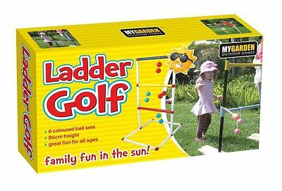 Ladder Golf Ball Set Party Throwing Family Game Fun Outdoor Garden Parties 86cm
