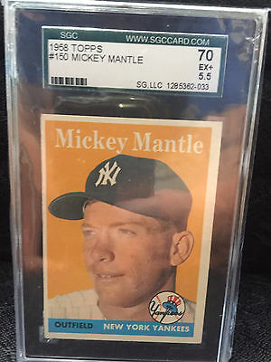 Mickey Mantle 1958