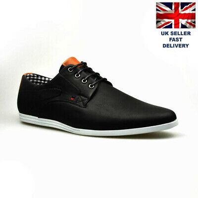New Men Shoes Casual Leather Formal Lace Up Shoes SIZE  7 8 9 10 11 12