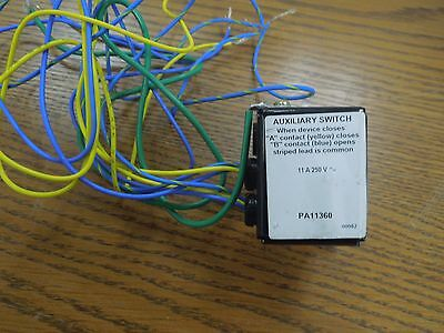 Square D PA11360 11A 250V Auxiliary Switch Used