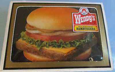 Wendy's Old Fashioned Hamburgers Playing Cards. (NEW)