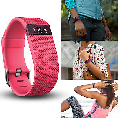 FITBIT Charge HR Activity Tracker Heart Rate Monitor Smart Exercise Wristband