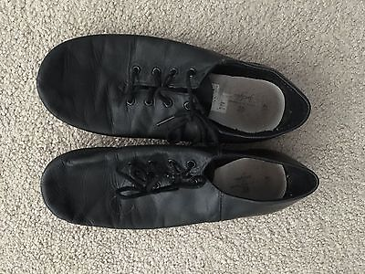 Girls Black Jazz Modern Dance Shoes Sz 4