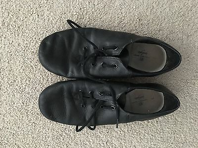 Girls Black Jazz Modern Dance Shoes Sz 3