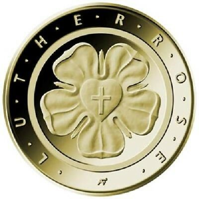 "Deutschland 50 Euro 2017 ST Lutherrose ""G"" Reformation Martin Luther Goldmünze"