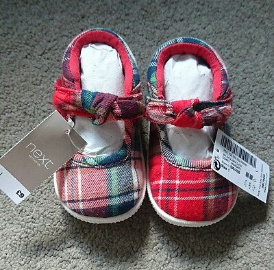 NEXT baby girl shoes size 1