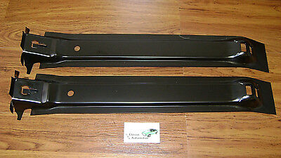 Camaro Firebird 67-68 Gas Tank Braces Pair of Trunk Floor Reinforcements support