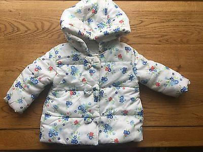 Bluezoo Baby Girl 6-9months Coat