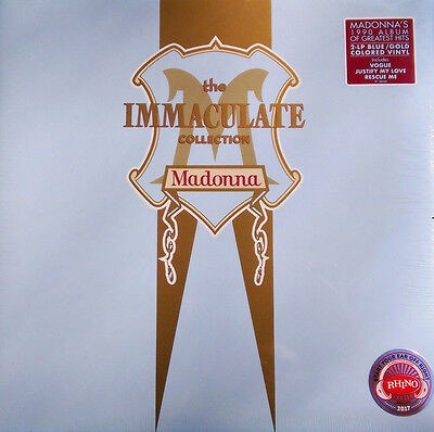 """MADONNA 2 LP VINILE COLORATO """"The Immaculate Collection"""" USA SIGILLATO Sold OUT!"""