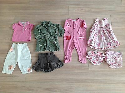 Baby Girls Bundle Of Clothes Age 9-12 Months & Swim Bikini Bottoms