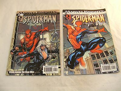 Lot of 2 Marvel Knights Comic Books 1 and 4  - Good Condition.