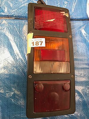 BMAC rear light unit with LED side and brake light Bus Part Ref 187