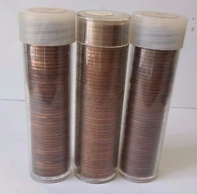 Lot Of 3 Full Rolls Of 1959-P&d Lincoln Cents   (S522)