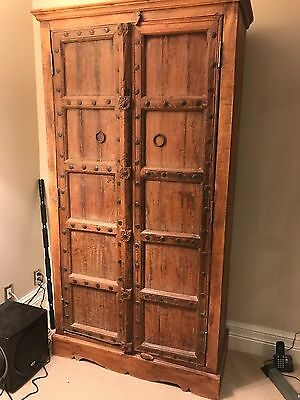 SOLID WOOD Indian/Asian Wardrobe/Cabinet Excellent Condition Large Retail $1200+
