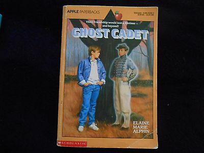 'ghost cadet' children's paperback book. first edition? 1991