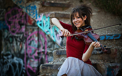 Lindsey Stirling Playing The Violin 8x10 Picture Celebrity Print