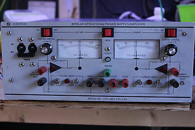 KEPCO BOP 20-10M Bipolar Operational Power Supply Amplifier TESTED