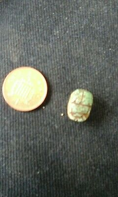 ancient egyptian scrab bead amulet