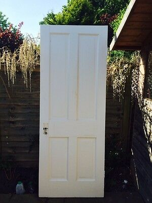 4 panel Edwardian internal reclaimed door