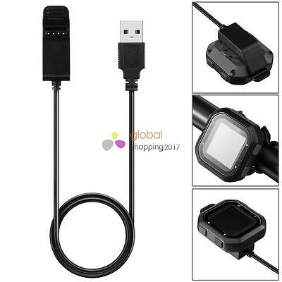 Replacement USB Data Charging Cradle Cable Charger for Garmin edge 20/edge Black