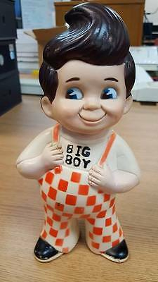 "1973 Vtg 9"" Bob's Frisch's Shoney's Big Boy Restaurants Of America Coin Bank"