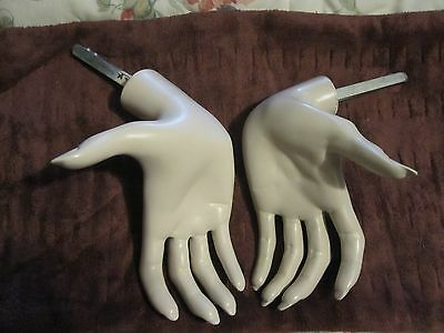 Mannequin  Hands Left And Right  Ladies Hand Display