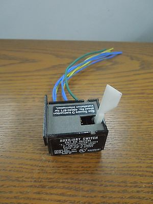 Square D PA11286 11A 250V Auxiliary Switch Used