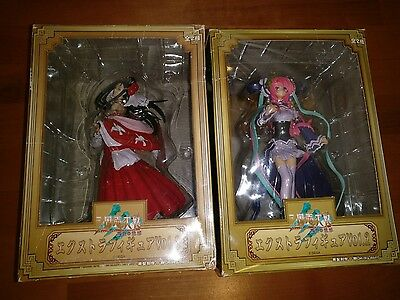 Sangokushi Taisen Extra Figure Set Vol 2 and 3 Lot Milky Doll Used in Box