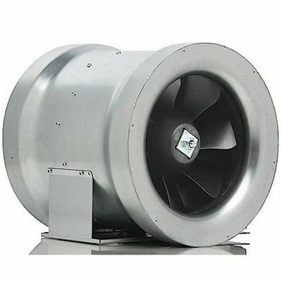 """Can-Fan Max Fan 12"""" inch 1708cfm Inline Duct Exhaust Carbon Filter Ventillation"""
