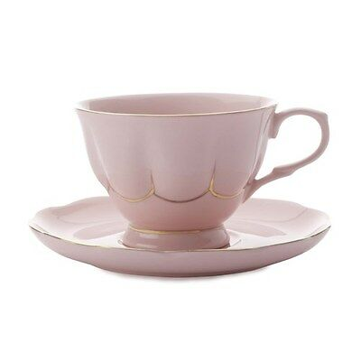 New Maxwell & Williams Blush Tea Cup and Saucer 250ml Pink Gift Boxed