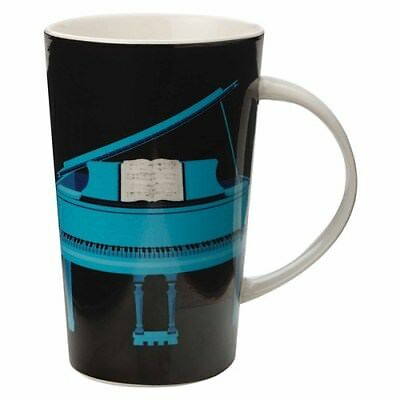 Maxwell & Williams Christopher Vine Recital Conical Mug 420ml Black Gift Boxed
