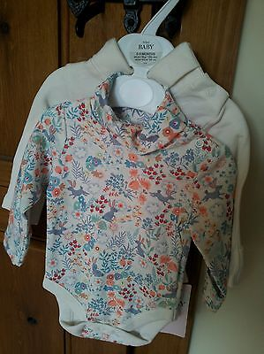 Marks and Spencer Baby,  2 pack Vests, 0-3 Months, Girls, New with Tag
