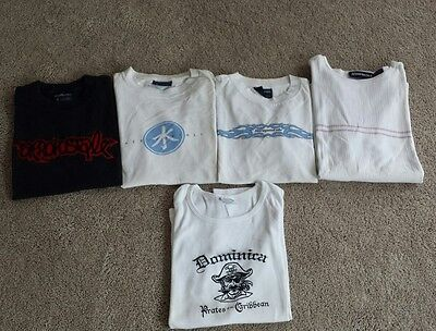 Men's lot of summer shirts and tank top.  Size S