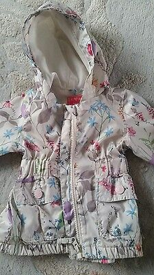 girls next spring summer coat mac 3-6 months