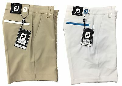 Footjoy Junior Boys Golf Shorts W22 W24 W26 W28 - RRP£35 - 1st Class Post
