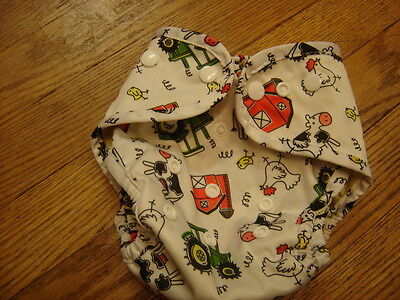 Buttons Snaps Farm AI2  Cloth Diaper Cover Farm