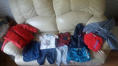 Kids clothes bundle 10 items age 6-12 months Macenzie Adidas