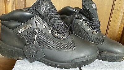 mens timberland boots size 9 used