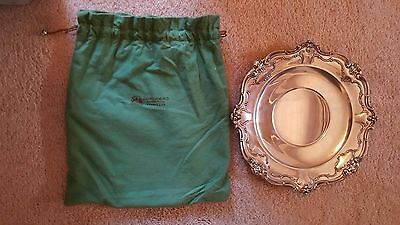 """Gorham CHANTILLY DUCHESS Plate platter tray 746 Sterling 10""""  EXELLENT  to MINT!"""