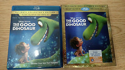 ** The Good Dinosaur Ultimate Collector's Edition ~ Blu-Ray + Blu-Ray 3D + DVD