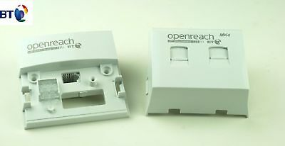 GENUINE BT Openreach MK3 FILTER NTE5a MASTER FACEPLATE SOCKET VDSL/ADSL BRANDNEW