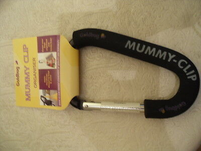 Goldbug Mummy Clip Organiser . Heavy Duty Aluminium with a Super Foam Grip