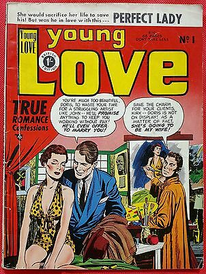 YOUNG LOVE 1 STRATO GOLDEN Age 1953 VF