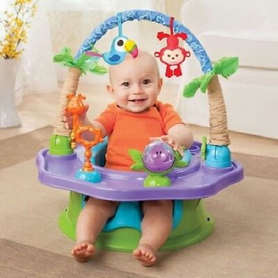 Infant to Toddler Activity Seat Booster Infant Play Baby Boy Girl Floor Seat