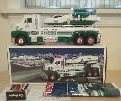 2014 HESS TOY TRUCK and SPACE CRUISER with SCOUT - 50TH ANNIVERSARY NEW IN BOX