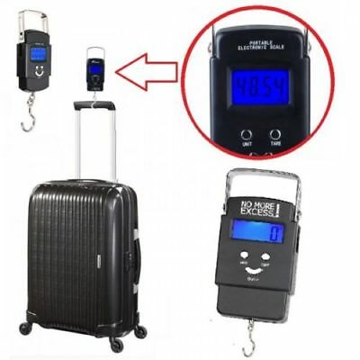 50Kg Portable Handheld Digital Luggage Scale Weighing Travel Suitcase Bag Scales