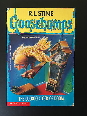 R. L. Stine Goosebumps # 28 The cuckoo clock of doom ~ FAST free post